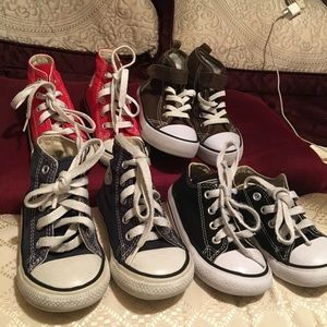 Bundle Converse baby shoes